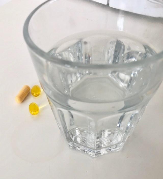 Pillen an Glas