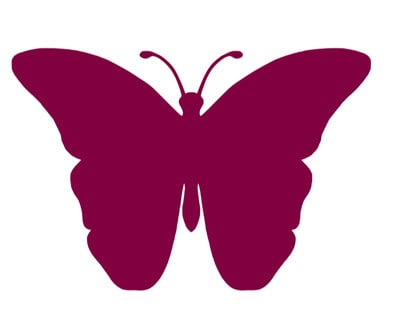 The purple butterfly is the symbol used by The Lupus Encyclopedia