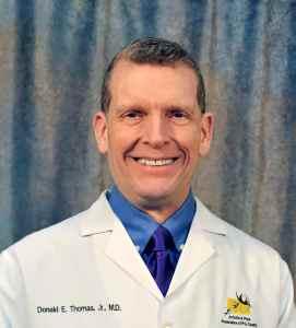 Rheumatologist Dr. Donald Thomas, MD author of The Lupus Encyclopedia