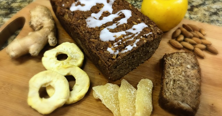 Gluten-Free Apple Ginger Bread