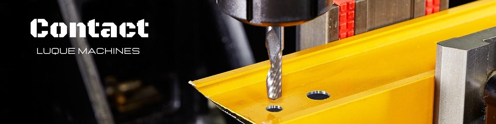 Contact LUQUE Machines devis fraiseuse CNC