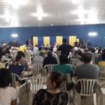Caldeado ambiente en  la asamblea de Luqueño