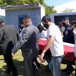 Trasladan féretro del comisario Ferrari a otro cementerio de Luque