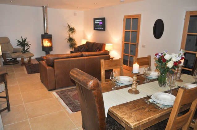 Living room/dining room | Lurach House