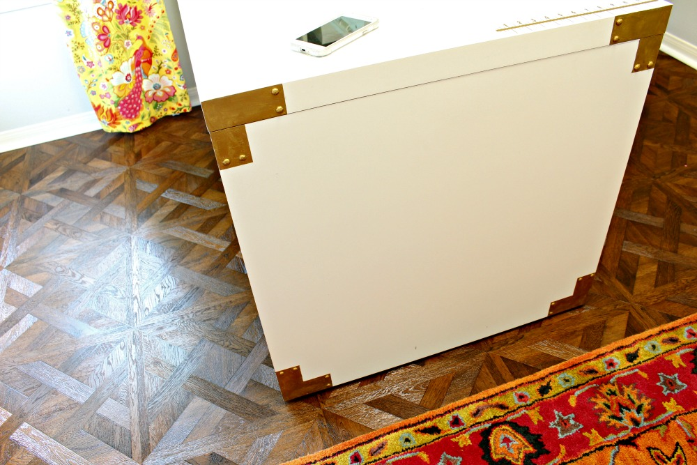 Campaign hardware Ikea Hack Using Rub n buff easy project lura lumsden blog 1
