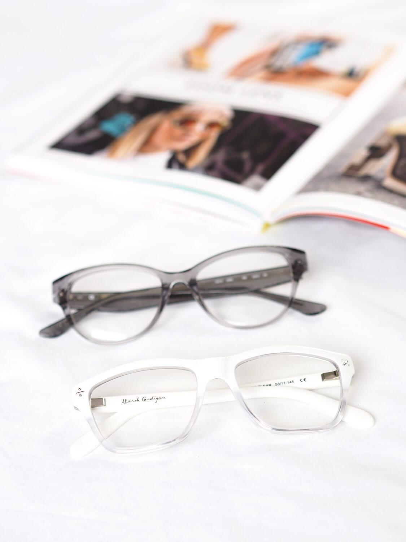 c84830ecc19 Clear Frame Glasses on Fashion Blog ...