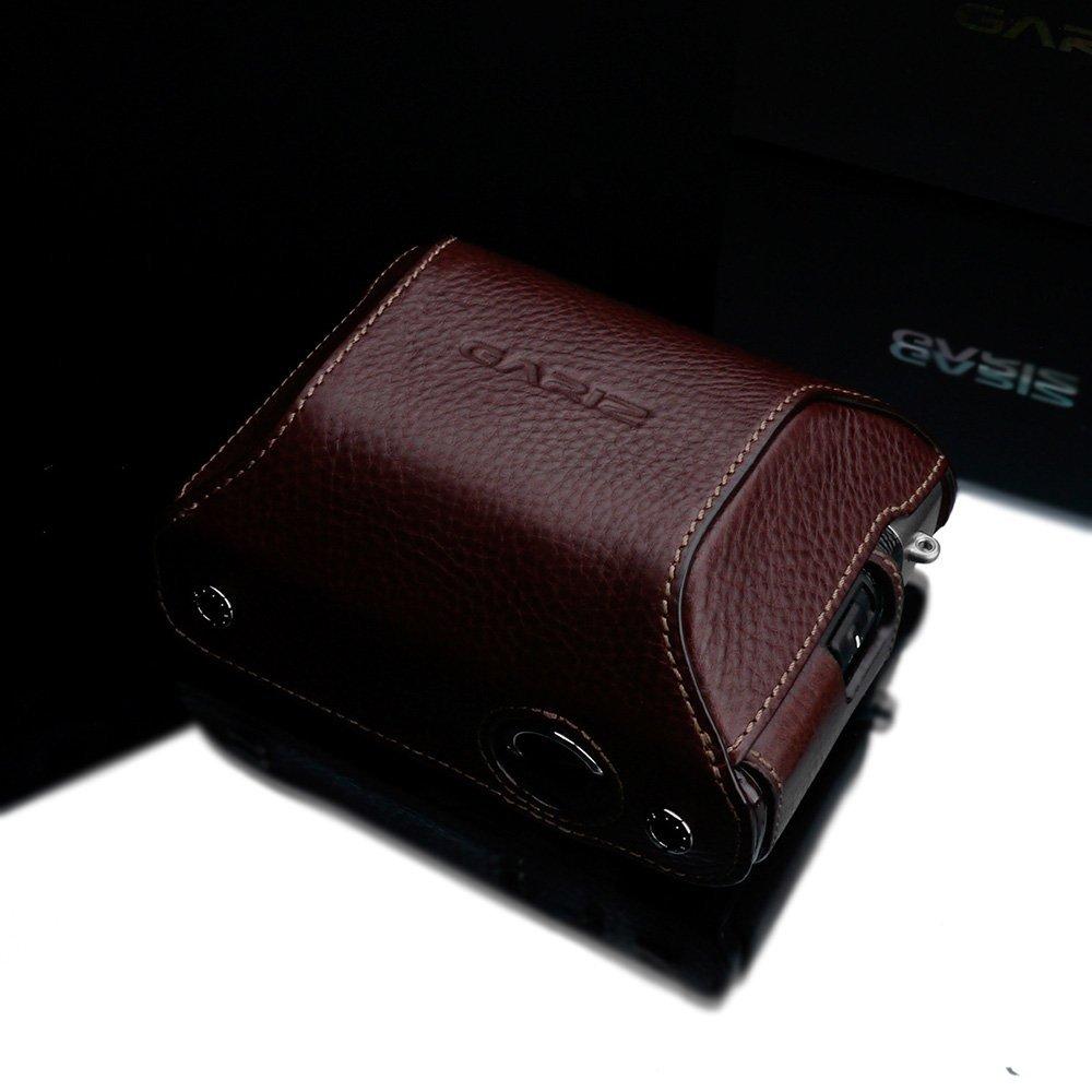 GARIZ FUJIFILM X100Fケース用 専用ケースカバー HG-CCX100FBR ブラウン