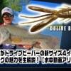 並木敏成が溺愛中のリグ「ドライブビーバーのフリーリグ」について動画生解説【水中動画アリ】
