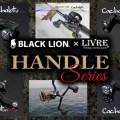 【CACHALOTキャシャロットLIMITED】ブラックライオンとLIVREのコラボカスタムリールハンドルの最新作4アイテムを詳しく紹介