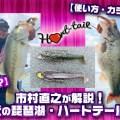 【リグは何?】市村直之が解説!ここ最近の琵琶湖・ハートテール事情!【使い方・カラーは?】