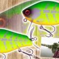 【散った魚は寄せて釣る】集魚力バツグンの水面お騒がせ系ウッドプラグ!/YABAI BRAND「フナバド」