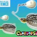 【コンパクトさが釣れる理由】ティムコの「キュアポップスピン」は食わせに完全特化した超小型スピナーベイト