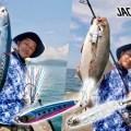 【ジャックアイ】夏の沖堤防ライトショアジギング!ソーダガツオやシオなど、夏らしい魚が連発!