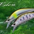 メジャークラフト初の渓流トラウト用ミノー「エデン」