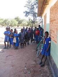 Zambian school children