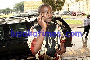 National Revolution Party (NRP) President Cosmo Mumba