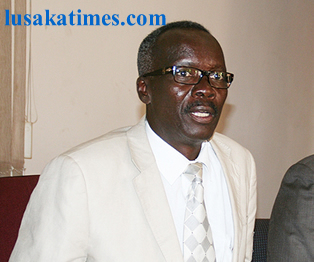 Former Executive Chairman of the Task Force on Corruption Max Nkole