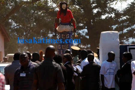 Zambia : The weekend in Pictures- Kulamba ceremony in focus