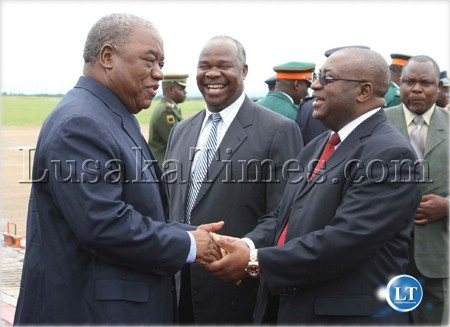 President Rupiah Banda and his ministers