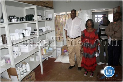 The Pharmacy at Sikongo Rural Health Clinic