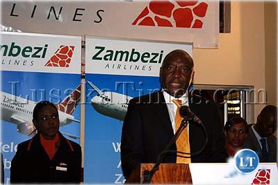 Zambezi Airlines chairman Maurice Jangulo
