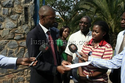 Chipangali MP Vincent Mwale