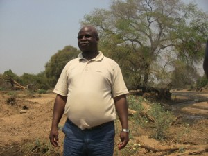 Deputy Minister for Lands, Natural Resources and Environmental Protection Elijah Muchima