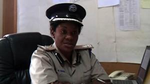 Zambia Police spokesperson Ndandula Siamana