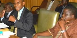 Commerce Minister Robert Sichinga