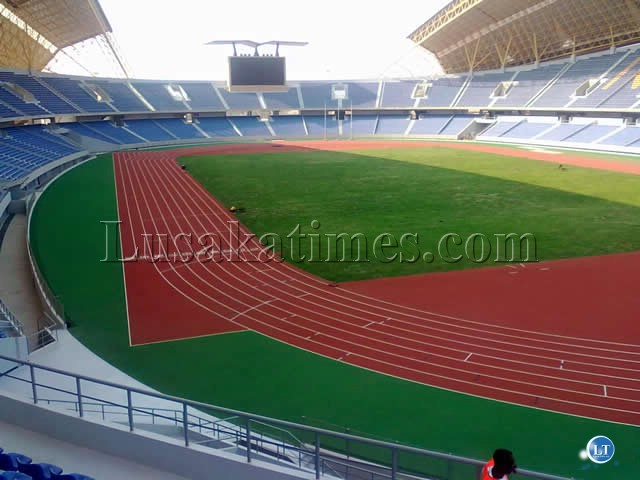 The Inside view of the New Ndola Stadium