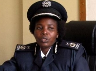 Southern Province Commissioner of Police Charity Katanga
