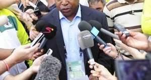 Football Association of Zambia (FAZ) President Kalusha Bwalya