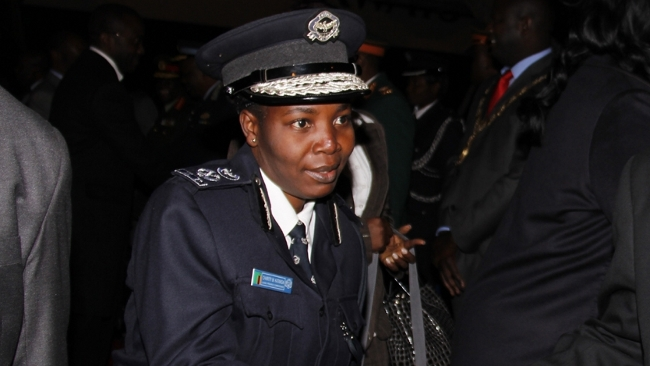 Lusaka Province Police Commissioner Charity Katanga