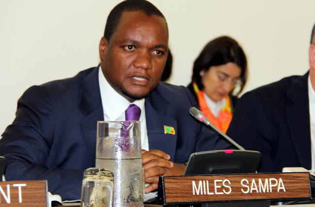 DEPUTY Minister of Commerce, Trade and Industry Miles Sampa