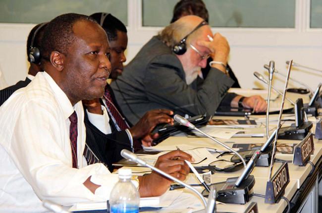 Lunte Memberof Parliament Felix Mutati