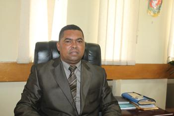 Central Province Minister Obvious Mwaliteta