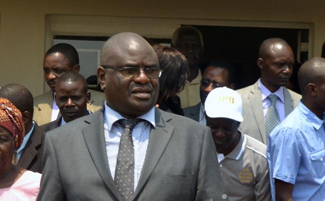 Speaker of the National Assembly Patrick Matibini