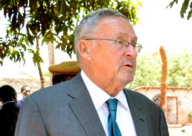 Vice President Guy Scott