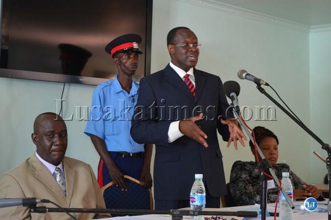 Permanent Secretary Dr Chileshe Mulenga