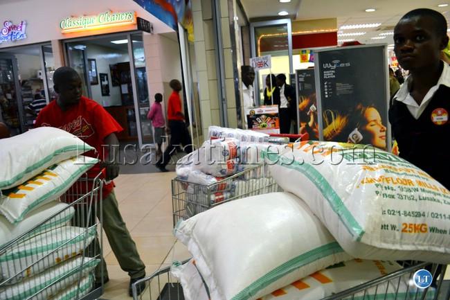 Christmas Shopping in Lusaka