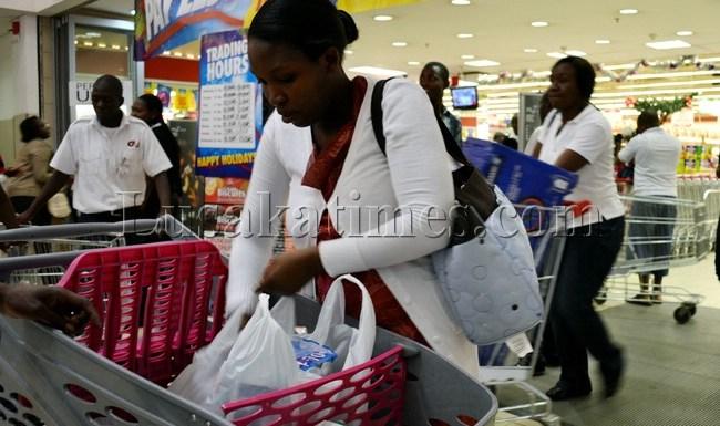 Shopping in Lusaka