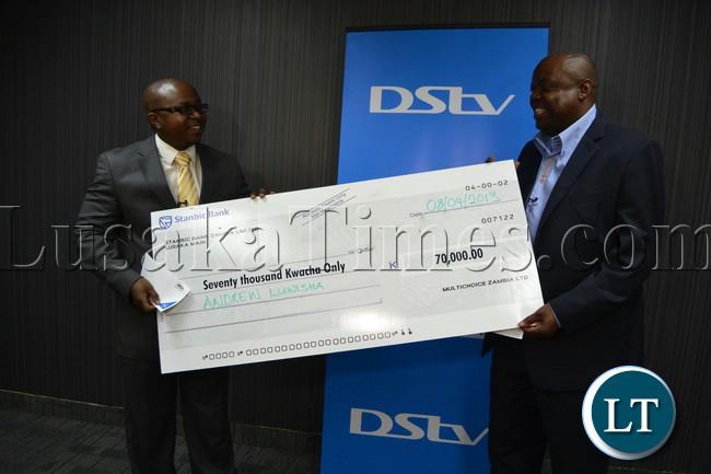 DSTV Competition prize winner