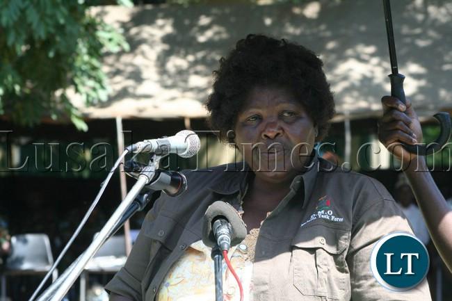Deputy Minister of Gender Dorothy Kazunga