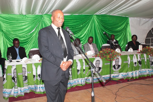 PF Lusaka District Chairman Goodson Banda