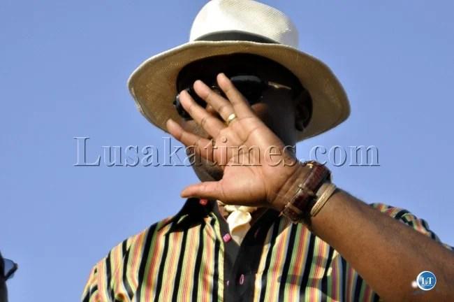 UPND Mazabuka Member of Parliament Garry Nkombo
