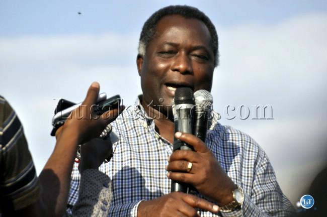 Former UPND vice president-political  Richard Kapita