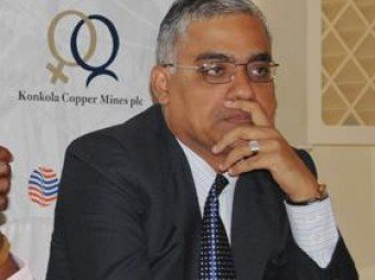 onkola Copper Mine (KCM) Chief Executive officer Kishore Kumar