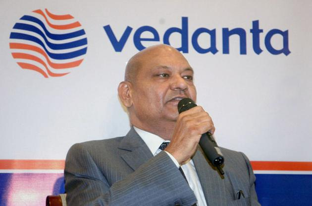 Vedanta Resources PLC Chief Executive Officer MS Mehta