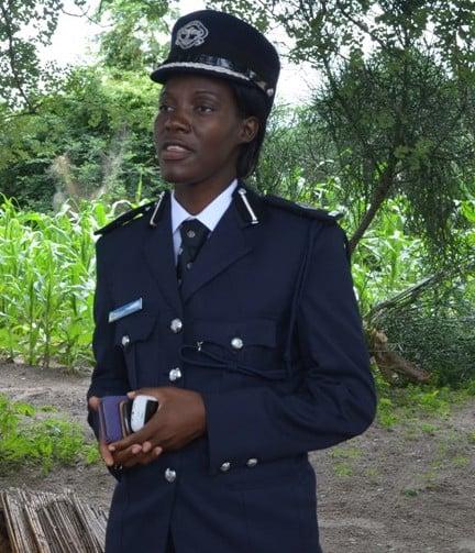 Zambia Police Service spokesperson Charity Munganga Chanda