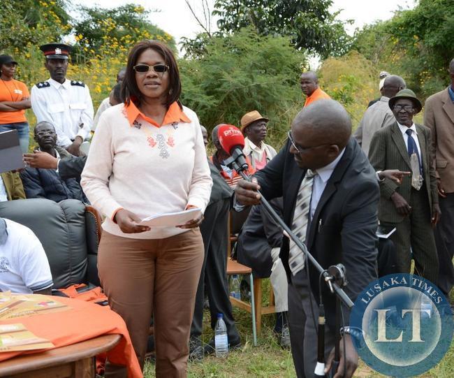 Chongwe Member of Parliament Sylvia Masebo